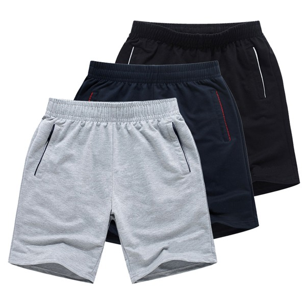 2015 100% Cotton Men Sports Short Pants