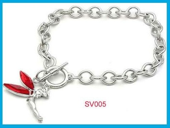 hot fashion beads metal love valentine' s day gift bracelet jewelry