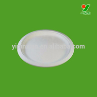 Hot selling catering food party wedding pudding bulk white dinner plates