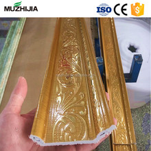 Plastic Foamed Cornice Moulding PVC Crown Moulding For Wall Roof