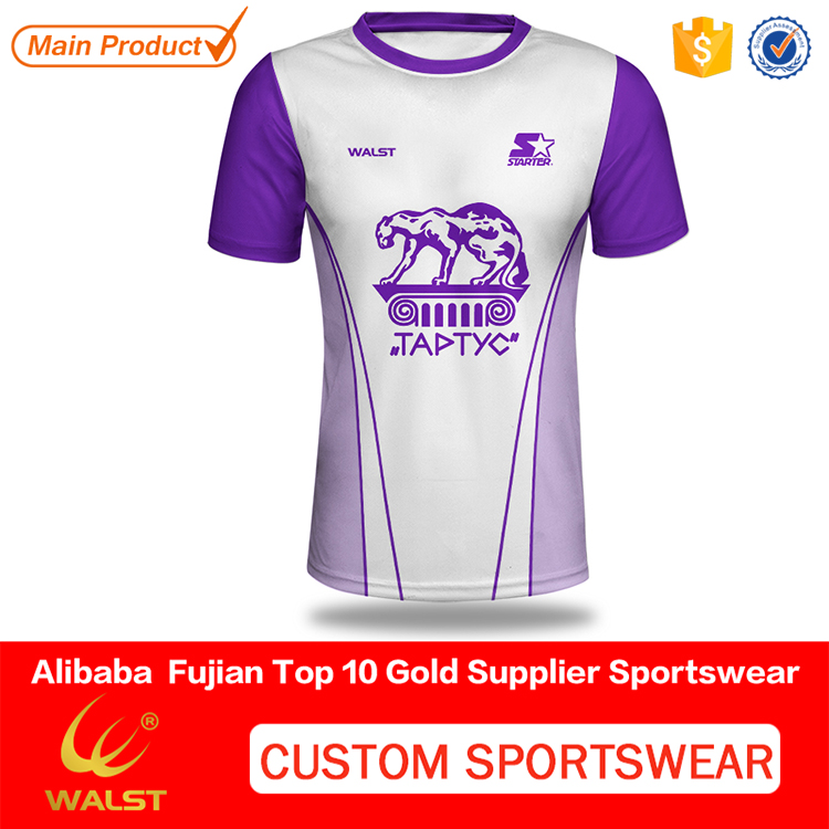 Digital printed Cool Mesh wholesale custom all over print t-shirt with your logo
