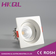 High power 12w harga lampu fire rated commercial led downlight