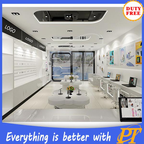 Mobile Phone Shop Furniture Design Mobile phone shop deco...