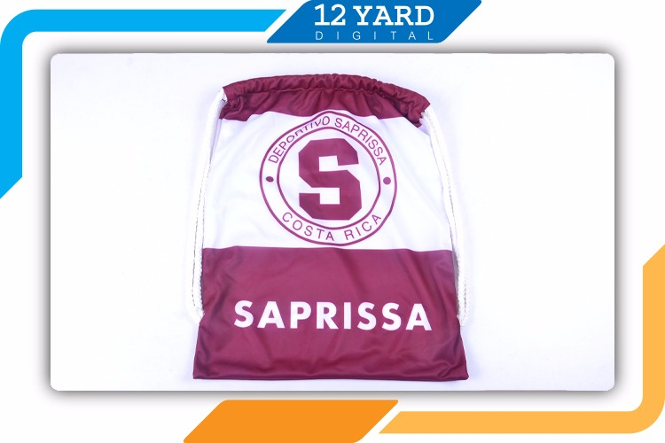 Sublimation Printing new products drawstring bag