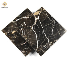 Factory produced 4cm thick floor marble with honed surface