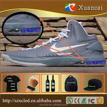 Shoes advertisement 5x36pixel Andorid mobile phone system use Bluetooth app small flexible led screen