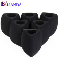 KTV Disposable PU Microphone Cover, KTV MIC Sponge, Triangle Foam Cover for KTV Microphone