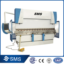 SMS CNC Electro-hydraulic Synchro hydraulic press brake/CNC Hydraulic Sheet metal bending machine for 100Tons 3100mm with tools