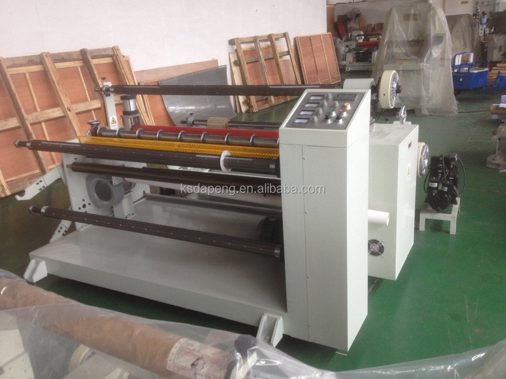 automatic slitting machine for paper (slitting rewinder)