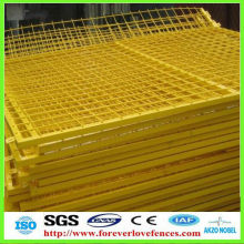 Powder coating fence panels, pvc coated welded wire mesh fence