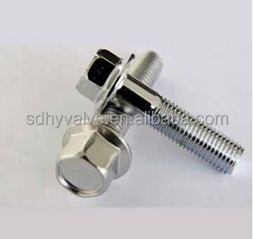 Marine hardware nut chainring bolt