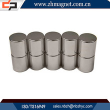 super strong cylinder ndfeb neodymium fridge magnet