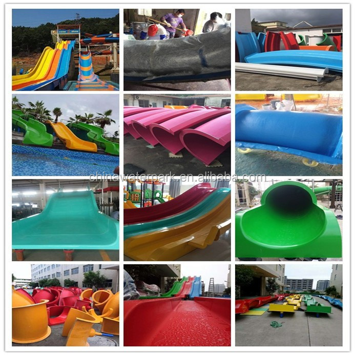 Professional Manufacturer for Smooth Fiberglass Skin Raft Screw Water Slide Swimming Pool Slide