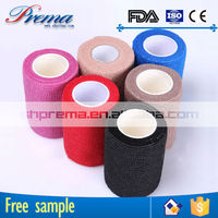 High Elastic Ratio Non-woven Elastic Medical Cohesive Bandage first aid devices