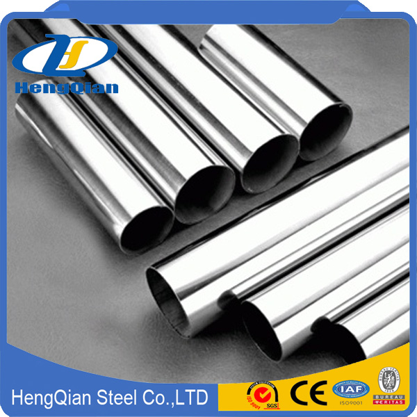 China polished 304 Stainless Steel Pipe price list