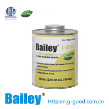 very fast seeting pvc solvent cement