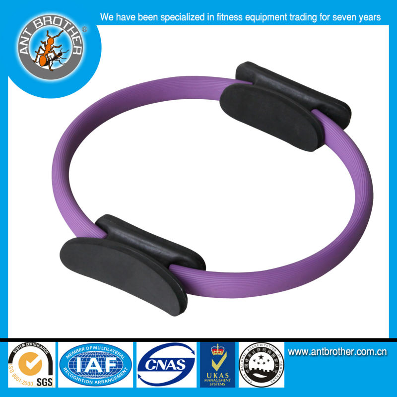 Ant Brother Colorful EVA Handle Pilates Ring
