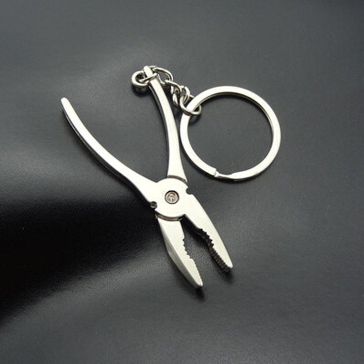 custom fashion promotion animal plastic low price waterpriifin stainless keychain metal keyring