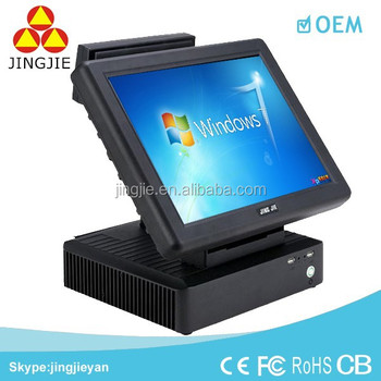 High Quality POS System POS Terminal Cheap Touch Screen POS System JJ-8000W