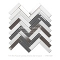 cheap indoor tile marble herringbone mosaic tile borders for bathroom