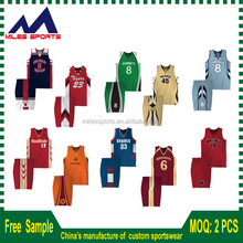 Pro custom cheap Full Sublimation basketball jersey/basketball uniform design