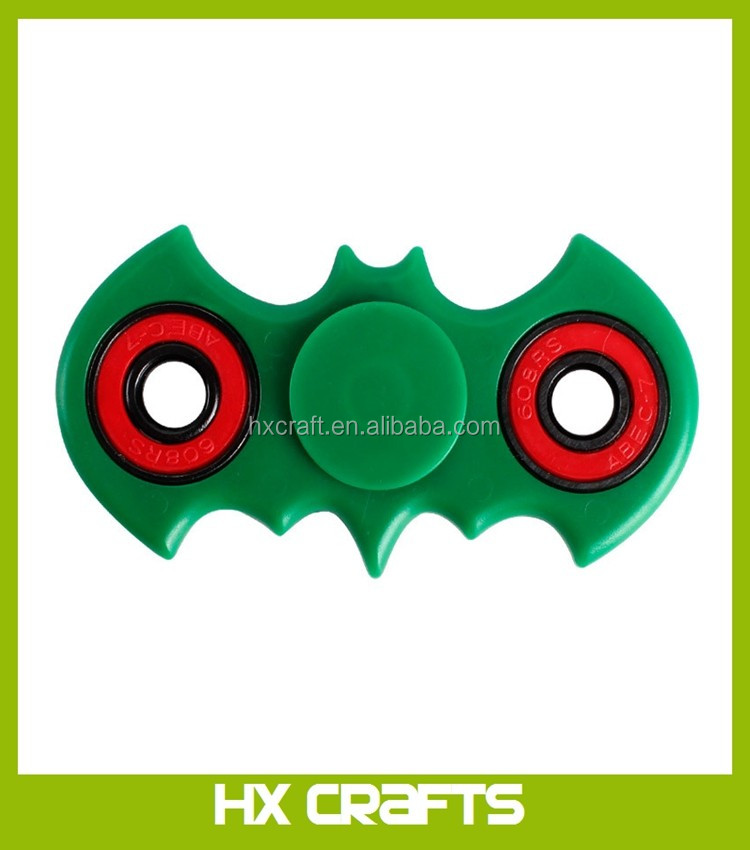 Bat Style Fidget Spinner Toy Plastic EDC Hand Spinner For Autism and ADHD Anxiety Stress Relief Focus Toys Kids Gift