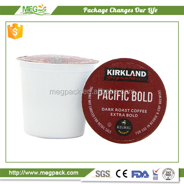 2017 Plastic empty Coffee Capsule k-cup k-cup filter