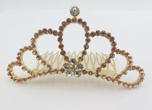 2015 High Quality Party City Hair Comb Tiara