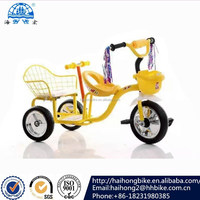 2016 shanghai fair new colorful baby tricycle,kids trike,fashional design kids bicycle with two seat/lovely baby tricycle
