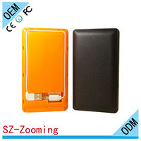 MW-818 8000mah portable External power bank Charger pack backup battery case for iphone 5 /5S