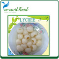567g New crop canned lychees price for canned lychee with best lychee in tin
