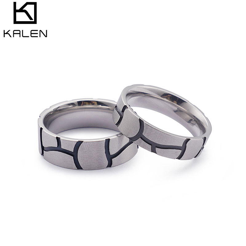 Special Pattern Ring &Cool Black Jewelry Men