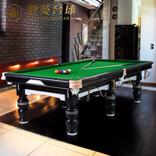 Portable Classic Modern Design pool balls billiard table