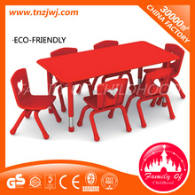 preschool study furniture kids table and chair