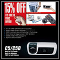 3D Ready Mini Projector / Digital Slide Projector / Mini Holographic Projector