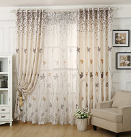 High quality printed fabric curtain for drapes for window