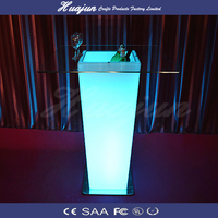 Led bar&ice bucket table/Hot selling led ice bucket table