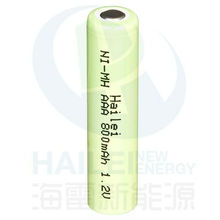 NiMH AAA Battery 800mAh 1.2V High Temperature Rechargeable Battery