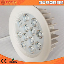 High lumen round and recessed led down light indoor decoration 12w ip55 led downlight