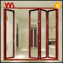 Wholesale price Customized office Stainless steel Aluminum Alloy bathroom pvc folding door
