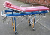 Hospital Stainless Steel Ambulance Stretcher For Patient Transporter