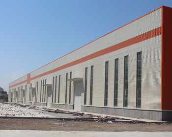 America Prefabricated Structural Steel Workshop Factory Plants Metal Storage Warehouse