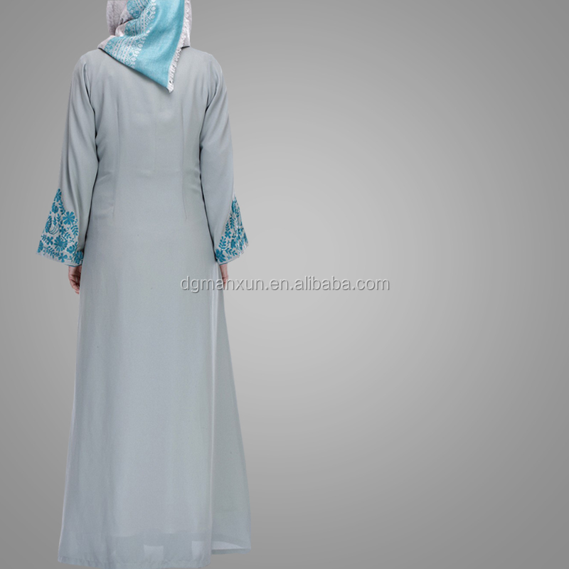 Modern Abaya Jilbab Islamic Clothing Wholesale Cheap Cosy Embroidery Design Kimono Abaya Turkish Style Kaftan Dress