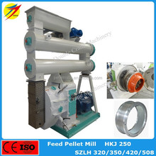 Hot sale best quality ISO CE ring die feed pellet mill for cattle sheep rabbit