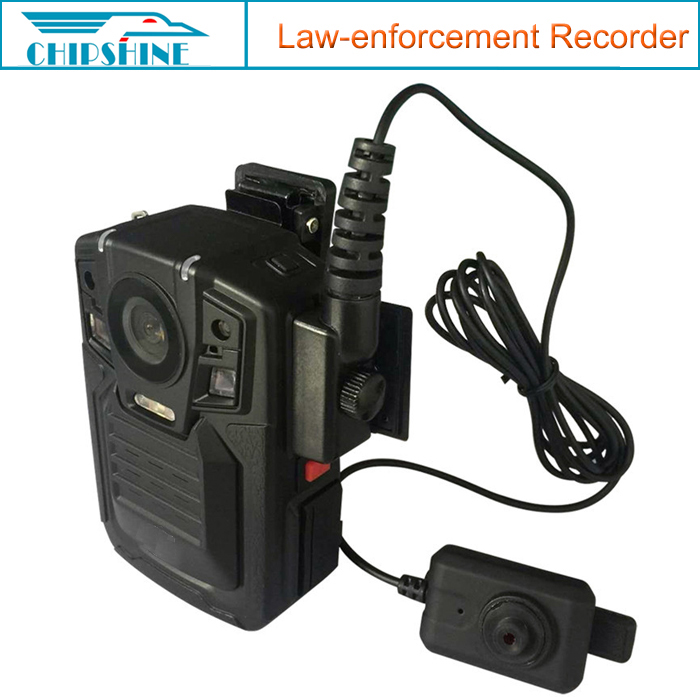 3900mAH One button video audio picture recording Auto night vision police body camera