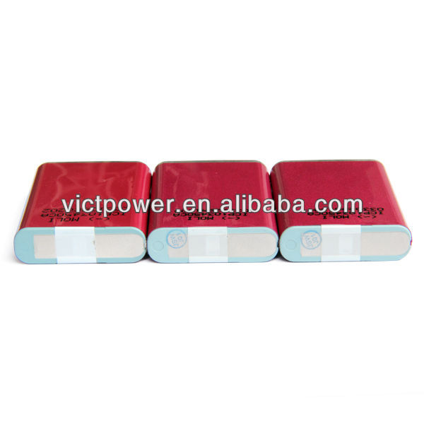 mobile 3.7v 2000mAh rechargeable lithium battery