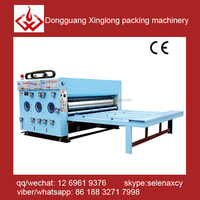 ink printing slotting die cutting machine