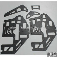 woven carbon fiber plate for robot body