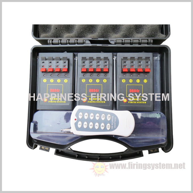 Liuyang Happiness 12 channels fireworks firing system/ 150~300M Wireless Fireworks Firing System (DB04r-12), China supplier