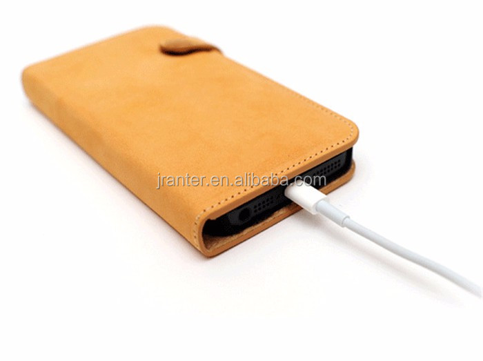 OEM Cheap Wholesale Mobile Phone Flip Down Leather Case for iPhone 6